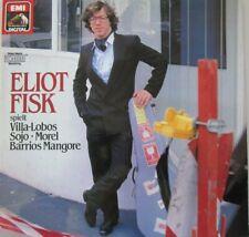 ELIOT FISK SPIELT VILLA-LOBOS / SOJO / MOREL /  BARRIOS MANGORE  - LP