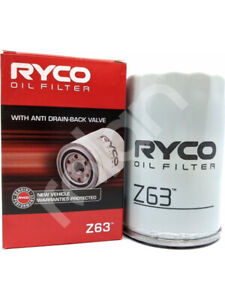 Ryco Oil Filter FOR AUDI 90 8A (Z63)