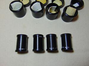 4 pieces 16KP-1.2/35  OKP1-35-1 Projector lens USSR camera F-1.2/ 35mm film