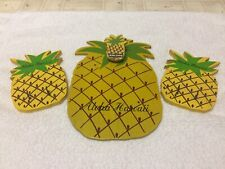 Pineapple Clip Board And Hooks