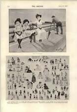 1893 BABY LAND Miss Tennant prix dessin la Gouvernante Crow