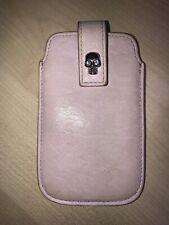 Alexander McQueen Skull iPhone 4 Leather Case in Baby Pink