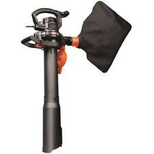 WORX 12 Amp 2 Speed Electric Leaf Blower Mulcher Vacuum Lawn Garden Yard Cleaner
