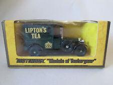 1977 Matchbox Models of Yesteryear 1927 Talbot Van Lipton's Tea Y-5 England NIB