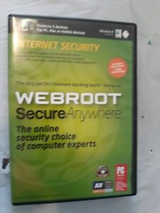 Webroot Internet Security 2011 by Passmark Software Security  132DVDS2US