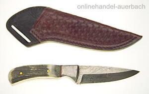 Damastmesser Damast Messer Damaszener Jagdmesser