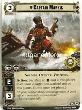 Warhammer 40000 Conquest LCG - Captain Markis  #042 - Base Set