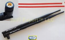 2 9dBi RP-SMA WiFi Antennas Linksys E2100L WRT160NL D-Link DIR-825 DAP-1360