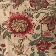 Pottery Barn Jackobean Floral Standard Pillow Sham French Country Farmhouse Euc