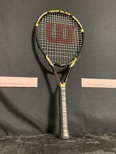 Wilson Stop Shock Tour Slam 4 3/8 Tennis Racket Power Bridge Oversize Os Racket