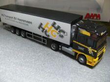 1/87 AWM DAF 95 XF HG Transport BV Heerenveen Planen-Koffer-SZ 53047