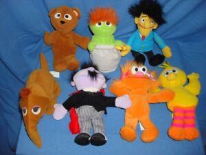 Vintage Tyco 1997 lot 22 bean bag collectible toys Sesame Street Elmo & friends