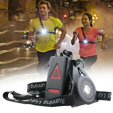 LED Running Chest Lamp Warning Light Walking Torch Safety Night Flash Waterproof