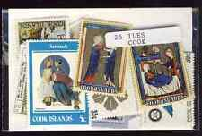 Iles Cook - Cook Islands 25 timbres différents