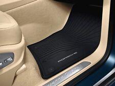 2011+ Porsche Cayenne OEM Rubber All-weather Floor Mats 958044801551E0