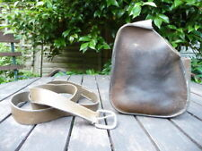 Handmade Brown Leather Shotgun Cartridge Bag & Belt - Hand Crafted Shooting Case