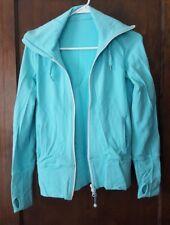 Lululemon Asana Jacket LuLuLemon full zip hoodie Size 6 angel Blue Moon