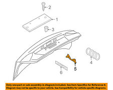 AUDI OEM 04-18 A4 Quattro Trunk Lid-Emblem Badge Nameplate 8H08537412ZZ