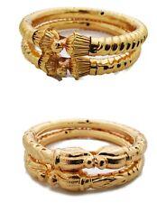 Indian Traditional 18K Jewelry Gold Plated Bala Style Women's Bracelets/Kada