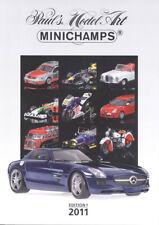 Minichamps PMA Model 2011 New Models Range Catalogue A4 Ed. 1 - Colour 230 Pages