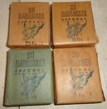 4 ancien paquet de cigarettes gauloise caporal n4