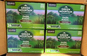 Keurig Green Mountain Coffee Dark Magic, K-Cup, Dark Roast, 96,Free-Ship-NEW