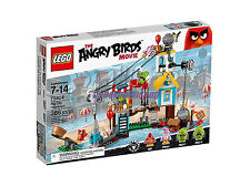 Lego ANGRY BIRDS 75824 Pig City Teardown MISB