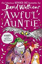 Awful Auntie From number one bestselling author David Walliam Paperback Book