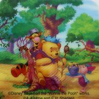 Drink Coasters 1 Disney Based on Winnie the Pooh Works Milne and Shepard Vintage
