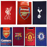 FOOTBALL CLUB TEAM RUGS CHELSEA, BARCELONA, ARSENAL & MORE NEW 100% OFFICIAL