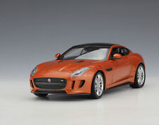 Welly 1:24 JAGUAR F-Type Coupe Diecast Model Car Vehicle Orange Mint in Box