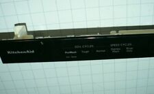#W10905153 #W11165145 WHIRLPOOL MAYTAG KENMORE DISHWASHER CONTROL PANEL OEM PART