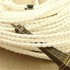 DIY Jewelry Making Braided Leather Cord Bracelet Pendant Necklace Thread Cords