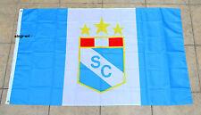 Sporting Cristal Flag Banner 3x5 ft Peru Futbol Soccer Bandera