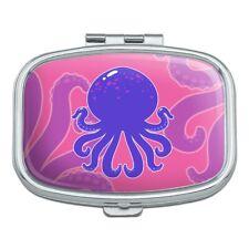 Cute Octopus Tentacles Ocean Rectangle Pill Case Trinket Gift Box