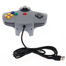 Wired Gaming Controller USB GamePad Joystick for Nintendo 64 Consoles Laptop/PC
