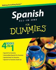 Spanish All-in-one for Dummies by Consumer Dummies (English) Paperback Book Free