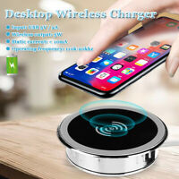5W USB 5A/2A Universal Wireless Charger Charging Pad Desktop For iPhone   F K