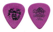 Vintage Dinosaur Jr. J. Mascis Face Purple Guitar Pick - 1990s Tours
