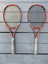 Pair Of Yonex VCore Tour G Tennis Rackets 330g 4 1/8 Grip