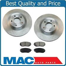 07-15 Ford Edge AWD 07-15 Lincoln MKX AWD (2) Front Brake Rotors & Ceramic Pads