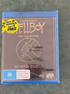 The Hellboy Collection - 2 movie Blue-Ray Box Set: STILL SEALED