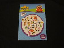 THE WIGGLES Tattoo Book - 30 Tattoos  BRAND NEW - LICENSED!