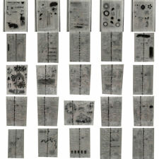 DIY Silicone Clear Stamp Transparent Rubber Seals Scrapbook Crafts Background