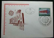 BUSTA  FDC EUROPA CEPT 1969 AUSTRIA RB01