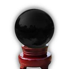 Cristal Bola de mágico curativo Fotografía Colorido Esfera 100mm Negro