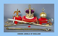 TEN (10)  KINGS AND QUEENS CROWNS AND ROYAL JEWELS