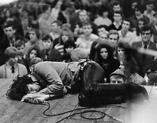JIM MORRISON LAYING DOWN ON STAGE POSTER 24 X 24 Inches