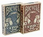 CARTE DA GIOCO BICYCLE THE CIVIL WAR,poker size