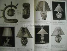 OROLOGI_SVEGLIE_LAMPADE_OREFICERIA_VETRI_MURANO_CATALOGO D'EPOCA_CALDERONI_1942